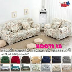1 2 3 4 Seater Chair Loveseat Sofa Cover Couch Slipcover Str