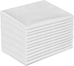 Utopia Bedding 12 Pillowcases - Queen White - Brushed Microf