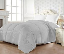 Elegant Comfort 1200 Thread Count Goose Down Alternative Com