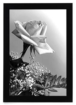 12x18 Black Picture Frame with Plexiglas Front By Americanfl