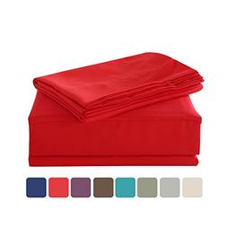HollyHOME 1500 Soft Hypoallergenic Brushed Microfiber Bed Sh