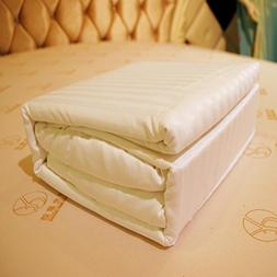 1500 Supreme Collection Bed Sheets sets,FIRERO White Stripe