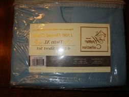 Sweet Home Collection 1500 Thread Count Twin XL Misty Blue 4