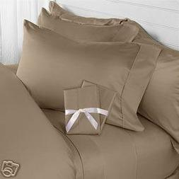 HC COLLECTION-Premium 1500 Series Bed Sheets Set, Hotel Qual