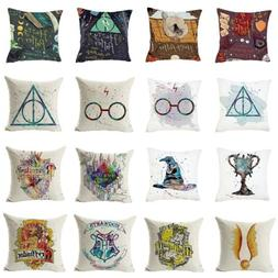 "17"" Pillow Cases Harry Potter Printed Kids Cushion Cover Thr"