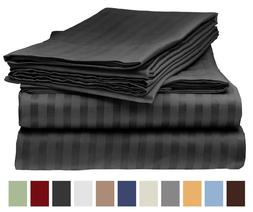 Italian Collection, 1800 Count 4 Piece Bed Sheet Set - King