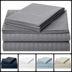1800 CT Super Soft Microfiber Comfort Extra Soft Bed Sheet S
