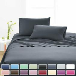 1800 Count Egyptian Comfort Extra Soft Bed Sheet Set 14'' De