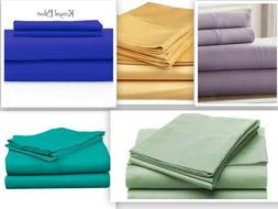 """Persian Collection 1800 Count Fitted Sheet  Deep Pocket 16"""""""