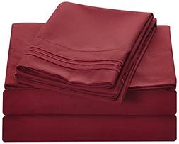 Bluedotsky Bedding - 1800 Platinum Collection - Breathable a
