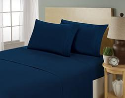 Luxurious Sheets Set 1800 3-Line Collection Brushed Microfib