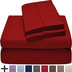 Premium 1800 Ultra-Soft Microfiber Sheet Set Full Extra Long
