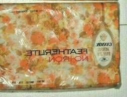 2 NEW CANNON ROYAL FAMILY TWIN FITTED & FLAT FLORAL SHEETS Y