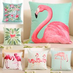 2019 USA Flamingo Home Decor Pillowcase Throws Pillow Case W