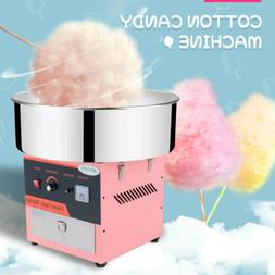 "21"" Electric Commercial Cotton Candy Machine Sugar Floss Mak"