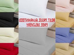 """2FT 6"""" Fitted Sheets Non Iron Percale ~ Kids Bunk Bed ~ ONLY"""