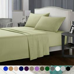3/4 Piece Set Deep Pocket Bed Sheets Comfort Sheet Set Queen