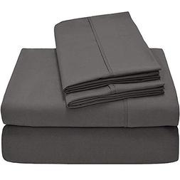 LilyLinens - Bed Sheets with Set of Pillow Cases - Fits Upto