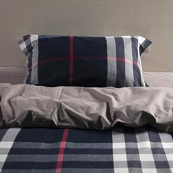 UFO Home 300 Thread Count 100% High-end Yarn-dyed Cotton Fla