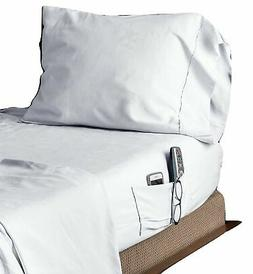 Speedy Sheets 4 Piece Full Bed Sheet Set, Fitted and Top Sew