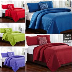 4 Piece Quilt Set by Glory Home Design