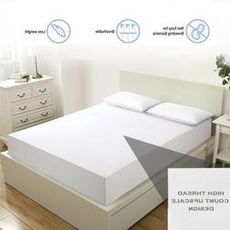 4-Piece White/Grey King/Queen Hotel Style Supreme Bedding Sh