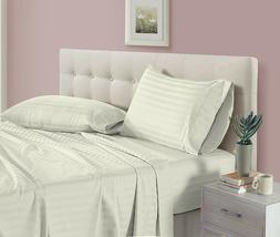 4 Pieces Hotel Luxury Soft 1000 TC Bed Sheets Set 100% Pure