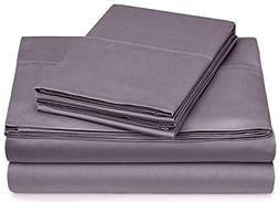 Pinzon 400-Thread-Count Egyptian Cotton Sateen Hemstitch She