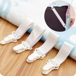 4pcs Bed Sheets Buckle Table Cloth Clip Anti-Slip Fixed Belt