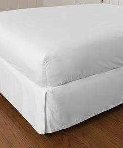 500 Thread Count Solid Pattern Easy Fit 1-Piece Pleated Tail