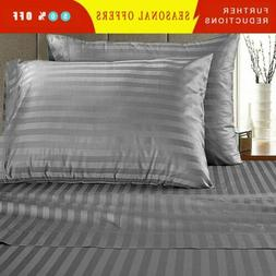 6 Piece Bedroom Bed Sheet Set 1800 Thread Count Luxuy Comfor