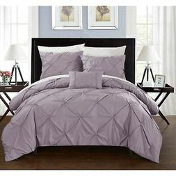 8 piece whitley lavender duvet and sheet