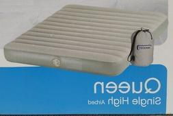 Aerobed Queen Single High Air Bed With Built in Pump
