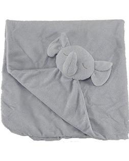Angel Dear Grey Elephant Napping Blanket