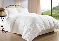 Bed-in-a-Bag White Down Alternative Comforter/Duvet Cover In