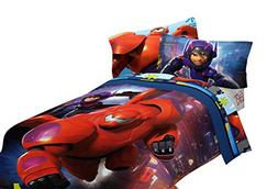 "Big Hero 6 72x86"" Microfiber Comforter, Twin/Full"