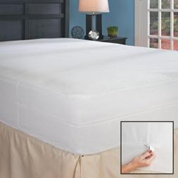 Full Hypoallergenic Bed Bug Mattress Cover with Auto-Locking