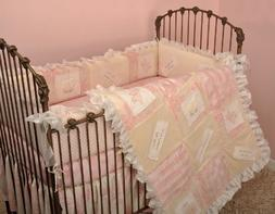 Cotton Tale Designs Heaven Sent Girl 4 Piece Crib Bedding Se