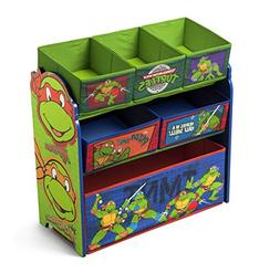 Delta Children Multi-Bin Toy Organizer, Nickelodeon Ninja Tu