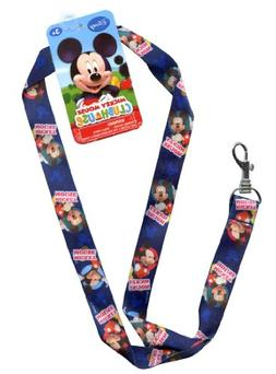 "Disney Junior 17"" Lanyard - Mickey Mouse Strap! Badge or Sea"