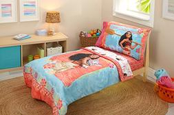 Disney Moana Ocean Spirit 4 Piece Toddler Bedding Set
