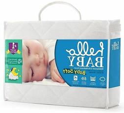 Hello Baby Waterproof Crib Mattress Cover- Quilted Ultra Sof