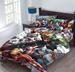 Marvel Avengers Agents of SHIELD Full Comforter Set with Fit