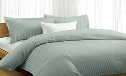 Millenium Linen King Size Bed Sheet Set - Silver - 1600 Seri