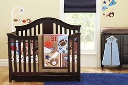 New 8 Pieces Baby Boy Sport Crib Bedding Set