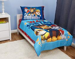 Paw Patrol To The Lookout Toddler Bed Set