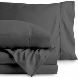 Premium 1800 Ultra-Soft Microfiber Collection Split King She