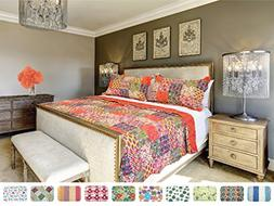 The CONNECTICUT HOME COMPANY Luxury Quilt Collection, Revers