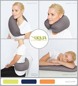 The Original FLEXi 4-in-1 Convertible Travel Pillow for Side