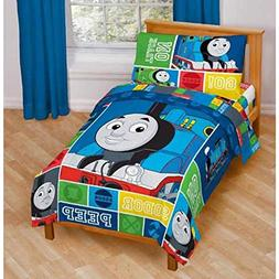 Thomas and Friends 4 Piece Toddler Bed Set